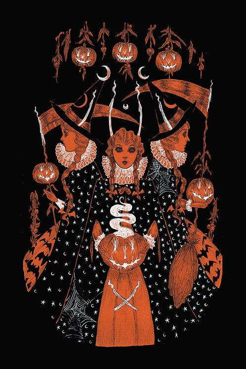This Samhain Eve print