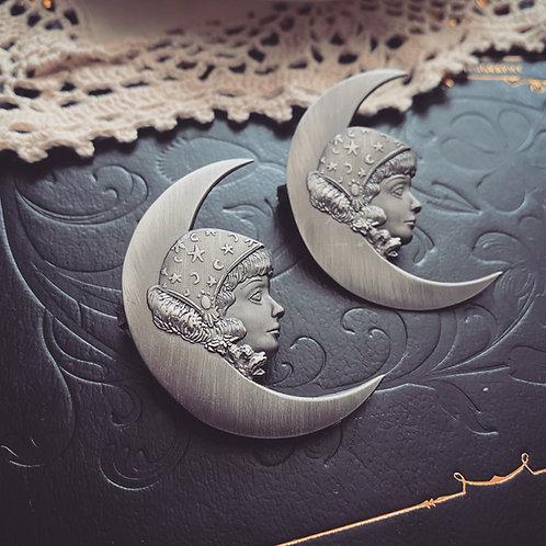 """My Moon, My Stars"" Brooch"