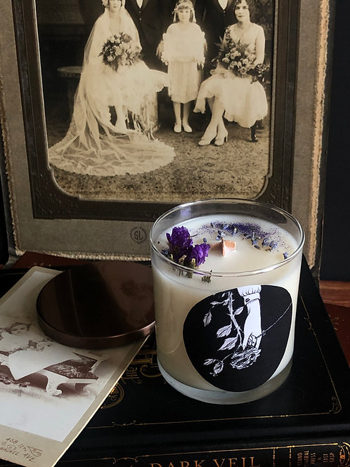 "Pre-order: ""Post Mortem"" (color changing) candle"