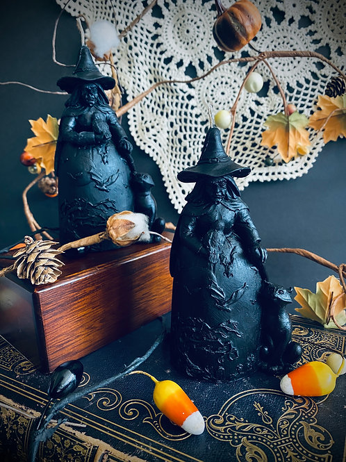 Pre-order Hedge Witch Scented beeswax candle