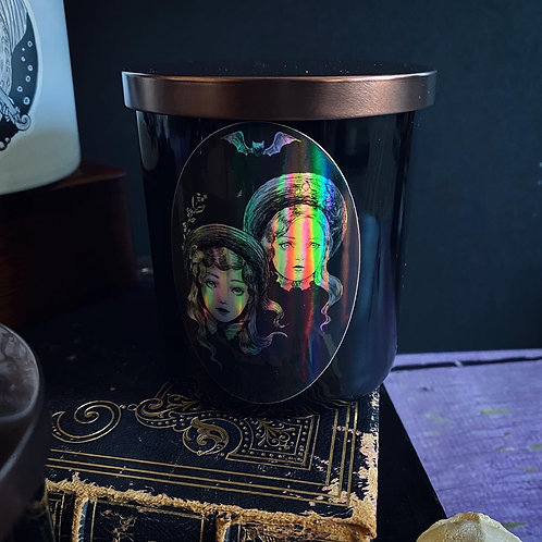 Pre-order: Wicked Sister Candle (Holographic label)