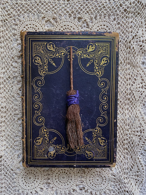 "'Incantations of old"" mini potpourri broom"