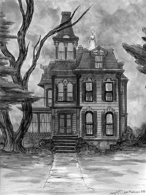 "8x10 ""Grandma's house"""