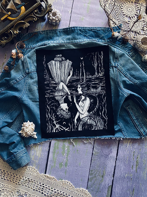 """Pre-order Back Patch """"As Above, So Below"""""""