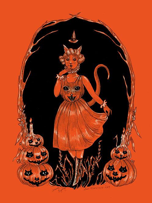 """Halloween Harvest Greetings"""