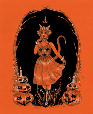A Deco Halloween