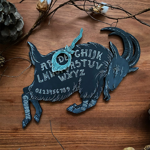 Holiday Pre-Order Black Phillip Ouija Board