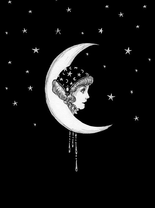 My Moon My Stars Print