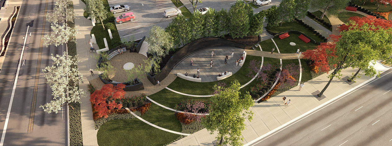 Depiction of the future Washington Gladden Social Justice Park.