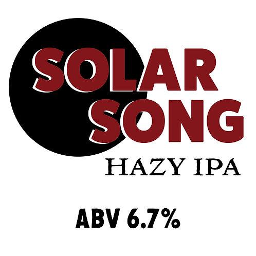 Solar Song Hazy IPA 16oz can