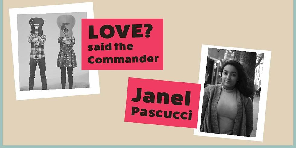 Live Music Thursday: Love? said the Commander & Janel Pascucci