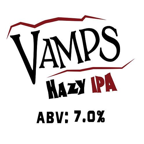 Vamps Hazy IPA 16oz can