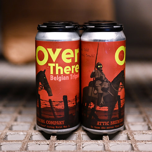 Over There Belgian Tripel 16oz can 4 PACK