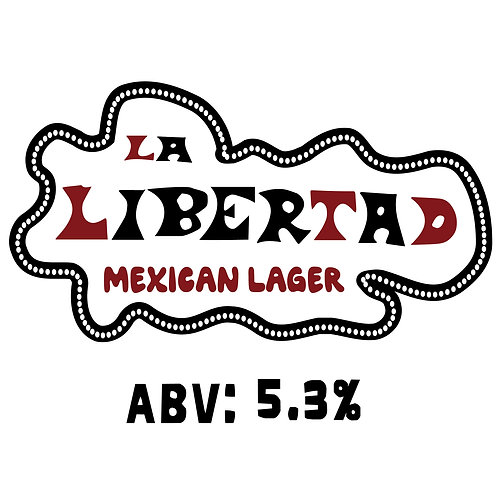 La Libertad Mexican Lager 16oz can