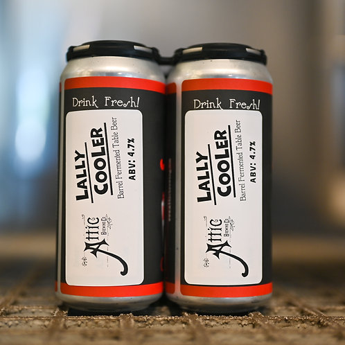 Lally Cooler Barrel Fermented Table Beer 16oz can 4-PACK