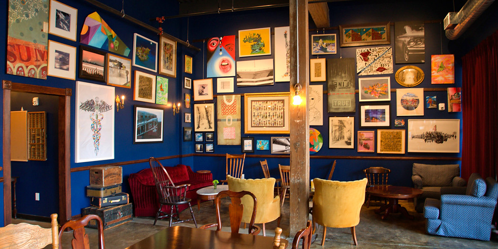 Artist's First Friday- The Gallery Wall