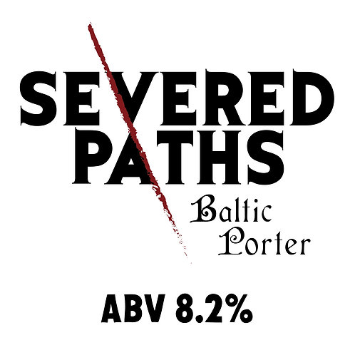 Severed Paths Baltic Porter 16oz can