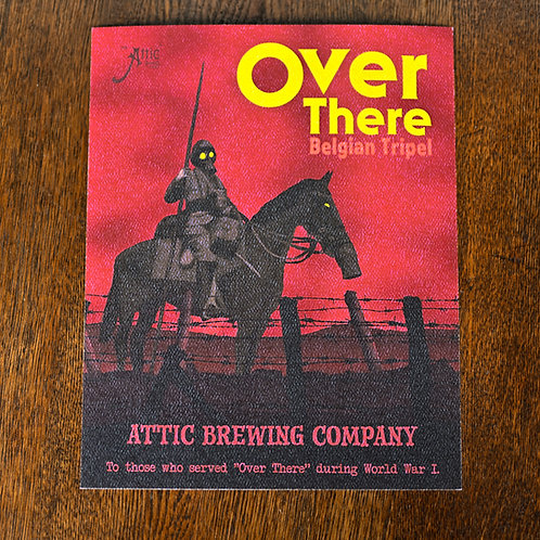 Over There Belgian Tripel Poster