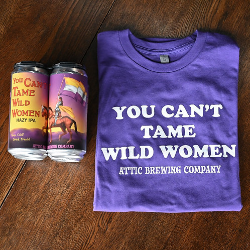 You Can't Tank Wild Women 4-Pack and T-shirt