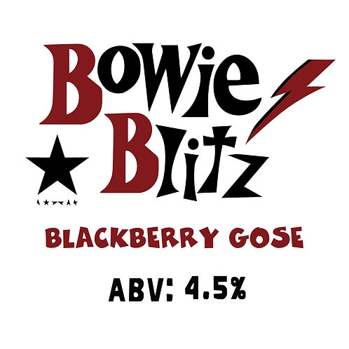 Bowie Blitz Blackberry Gose 16oz can