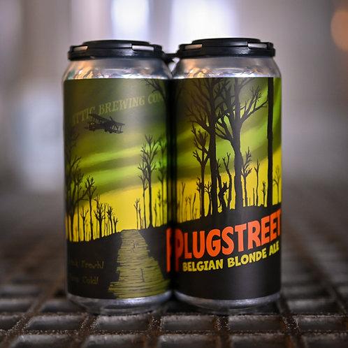 Plugstreet Belgian Blonde Ale 16oz can 4PACK