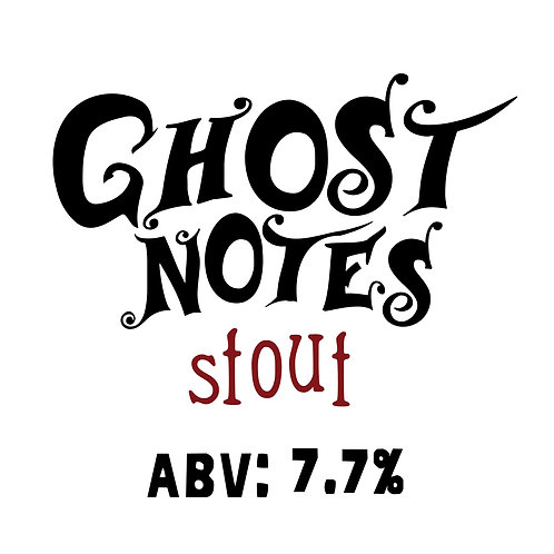 Ghost Notes Stout 16oz can