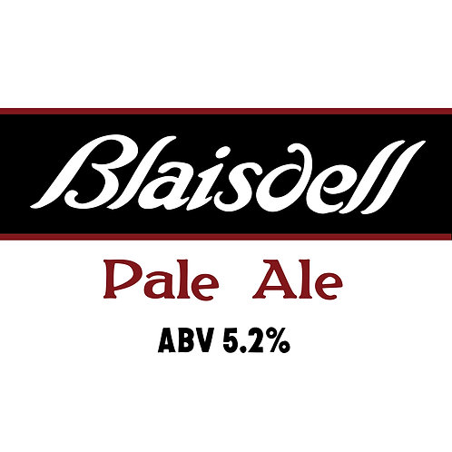 Blaisdell Pale Ale 16oz can