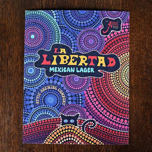La Libertad Mexican Lager Poster