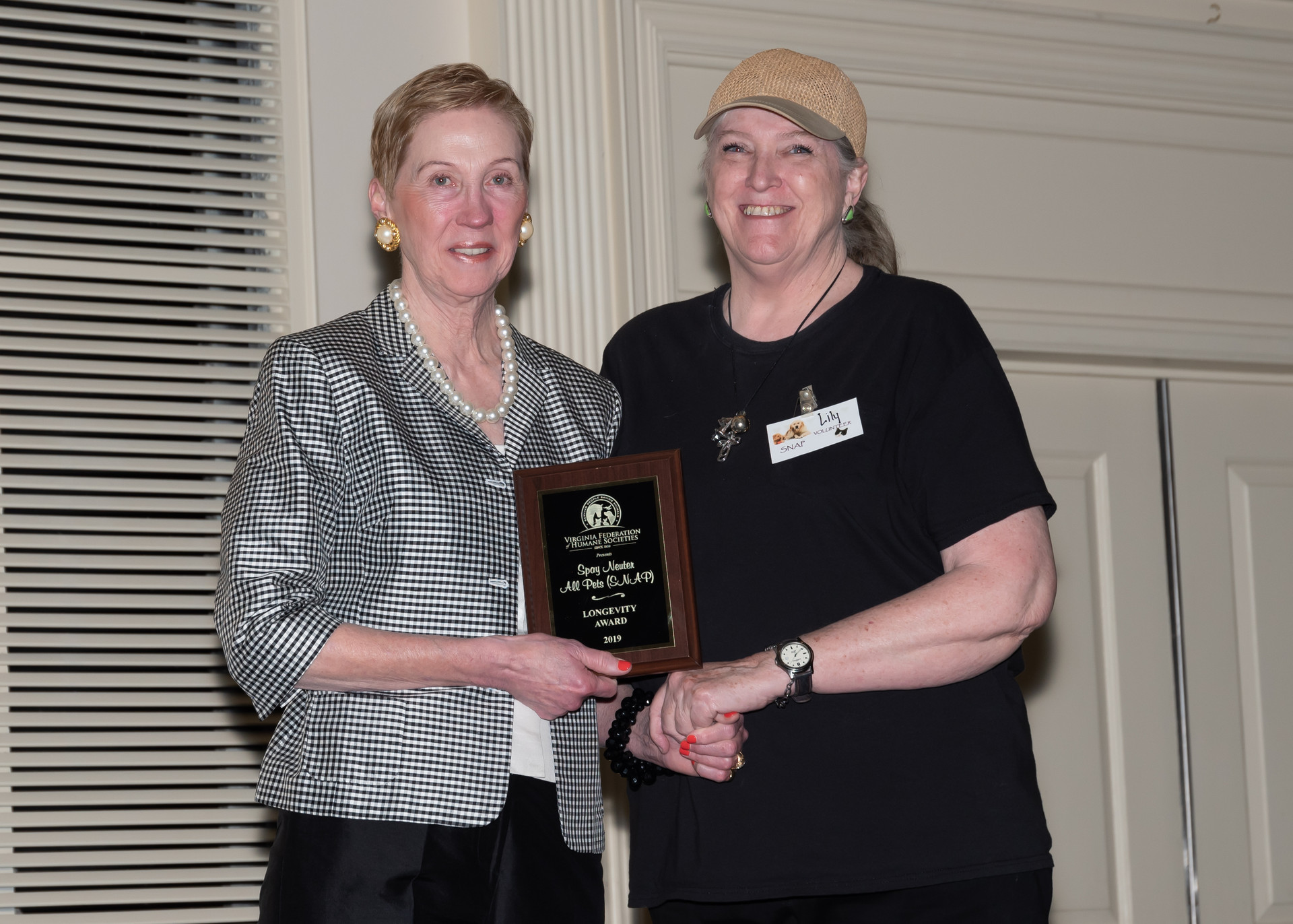 2019 VFHS Longevity Award