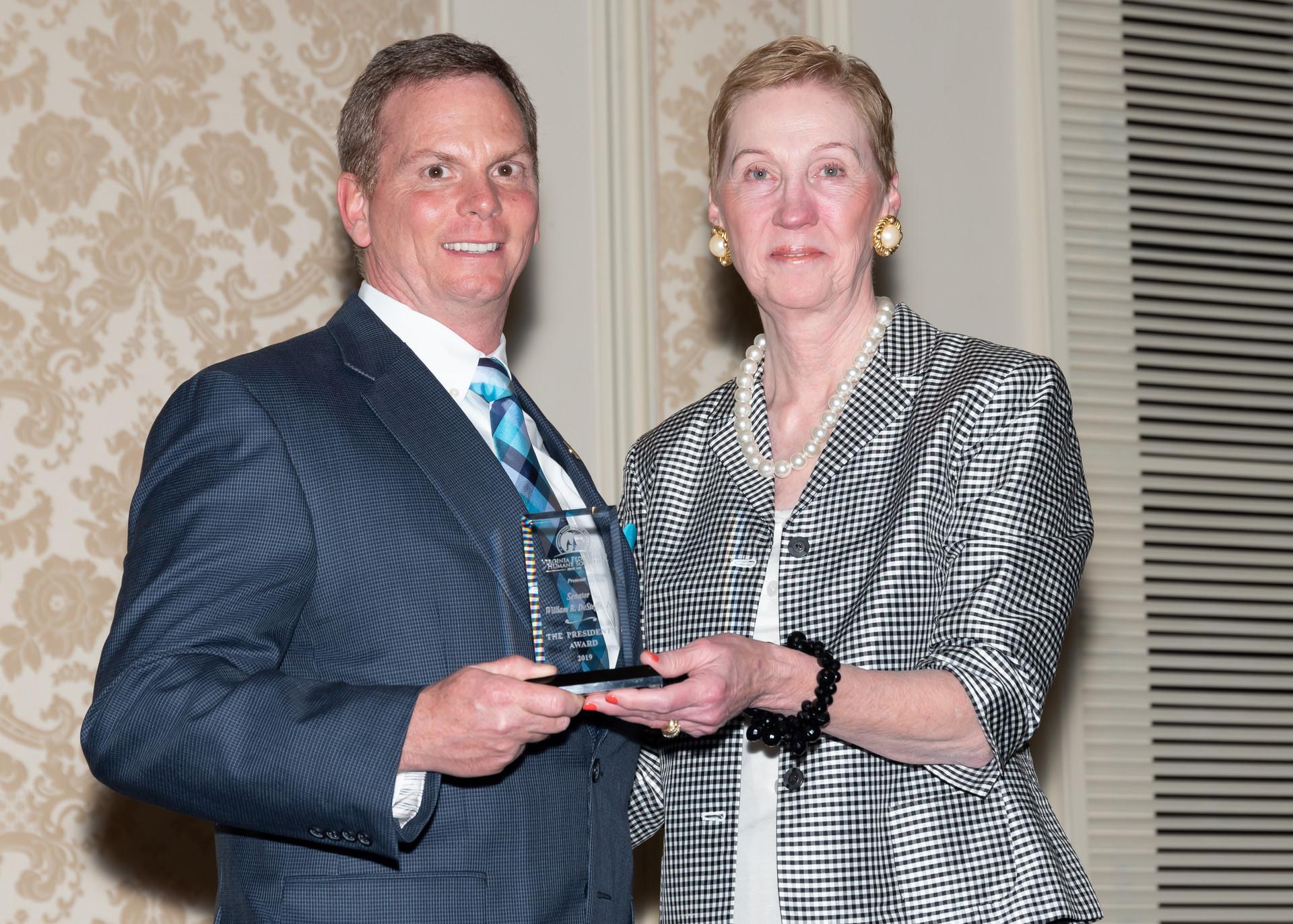 2019 VFHS President's Award
