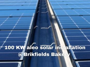 """Solar Bread"" Project @ Brickfields Bakery, NSW Australia"