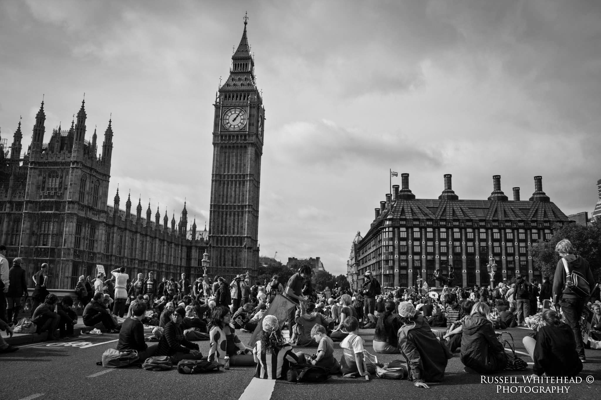 NHS bill protest 2012