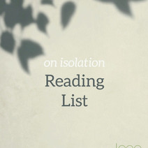 Vol. 01 - Isolation   Reading List