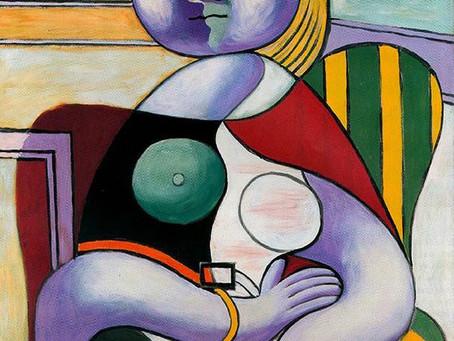 """Pablo Picasso's """"Reading"""" portrait"""