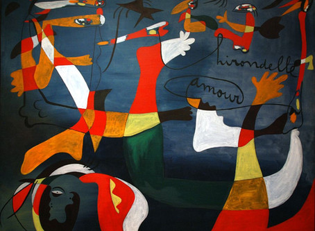"""""""Hirondelle amour"""", by Joan Miró"""