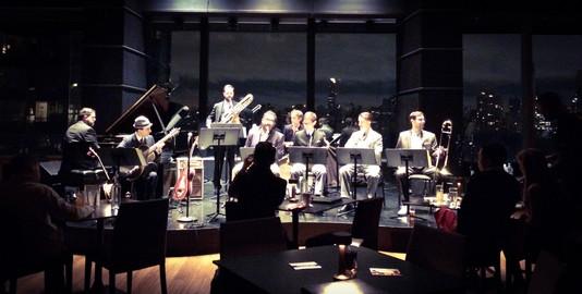 At the Dizzy's Jazz Club, NYC, USA, 2016