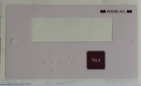 Intercall 500 Display Skin/Label