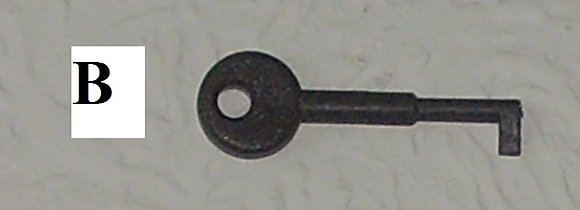 Key'B' Rafiki Fike Test Key 5 pack