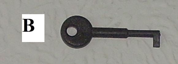 Key'C' Rafiki Fike Test Key 5 pack