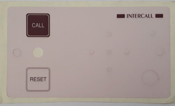 Replacement Intercall 521 Skin/Label