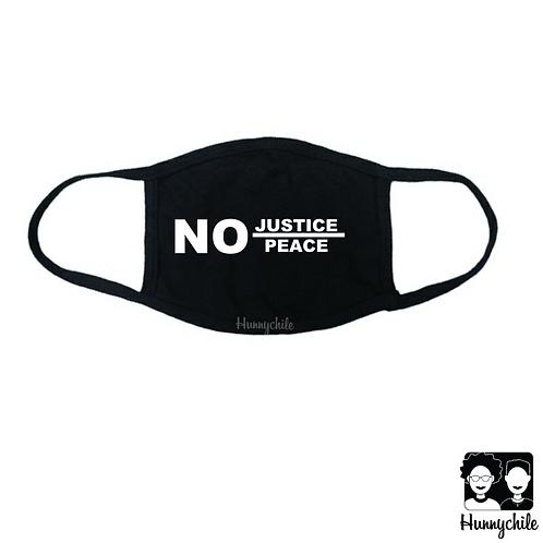 No Justice, No Peace Mask