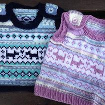 Puppy Baby Vest Knitting Pattern