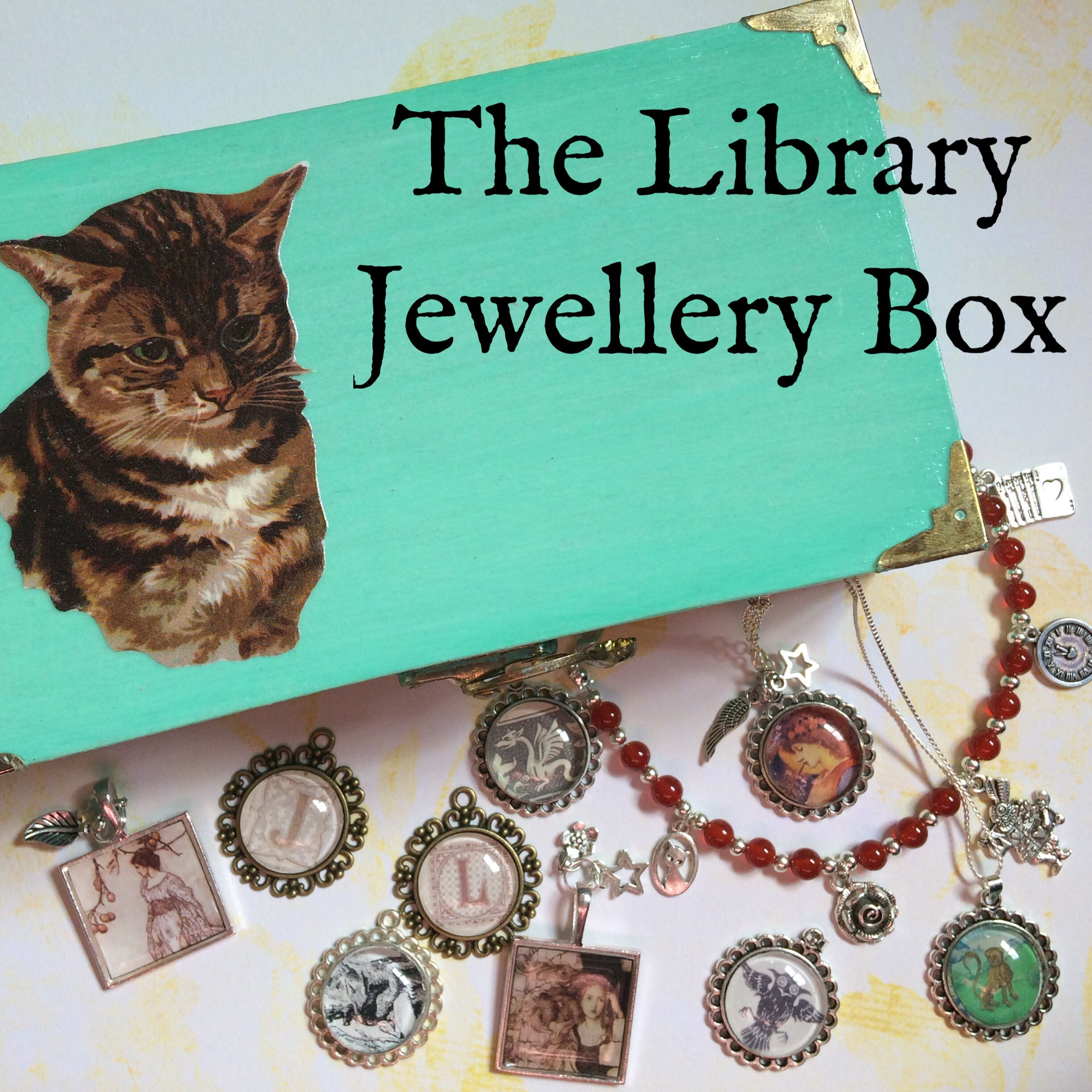 The Library Jewellery Box