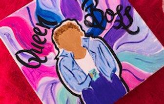 Queen Jaleen on Canvas
