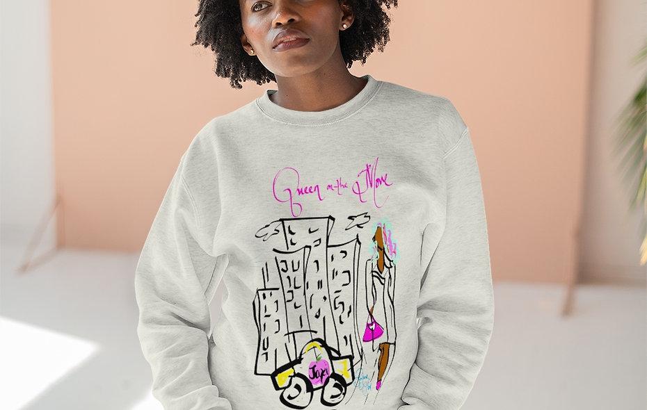 """""""Queen on the Move"""" Crewneck Sweatshirt"""