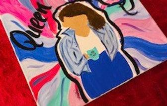 Queen Cheryl on Canvas