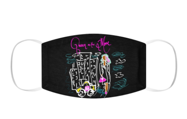 Queen on the Move Snug-Fit Mask