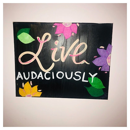 Live.Laugh. Love. on Canvas