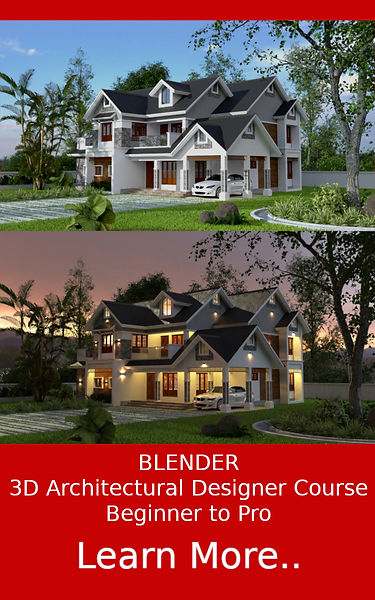 Blender 3D Architectural Designer Course