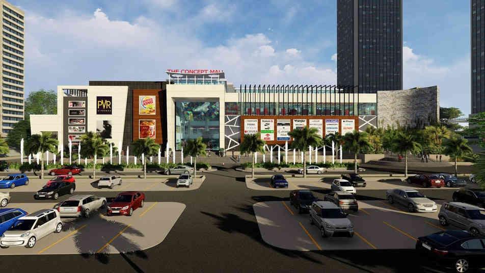Shopping Mall 3D Walkthrough Animation